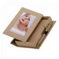 Zestaw biurkowy z ramką na zdjęcie