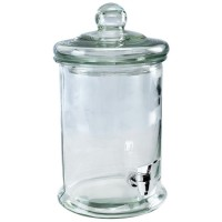 Szklany dozownik do napojów