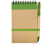 Notes eko na sprężynie (czarne dodatki)