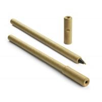 Papierowy długopis z płaską skuwką