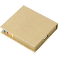 Zestaw biurkowy z karteczkami do notatek oraz karteczkami memo