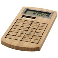Bambusowy kalkulator