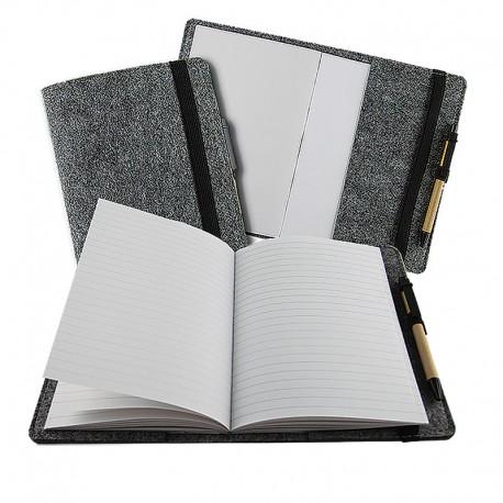 Notes w okładce z filcu